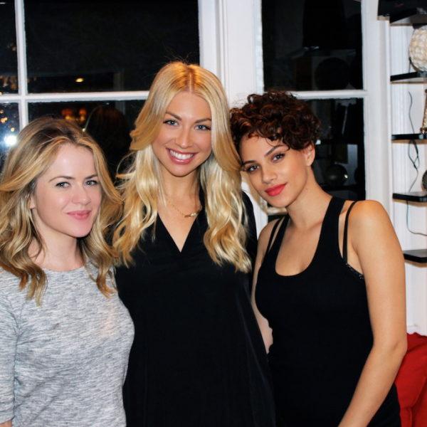 Stassi Schroeder Blonde Bombshell Hair Extensions