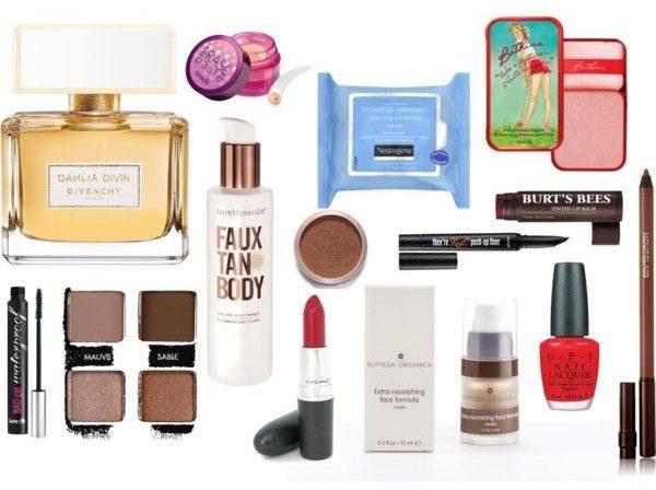 inside my makeup bag - stassi schroeder