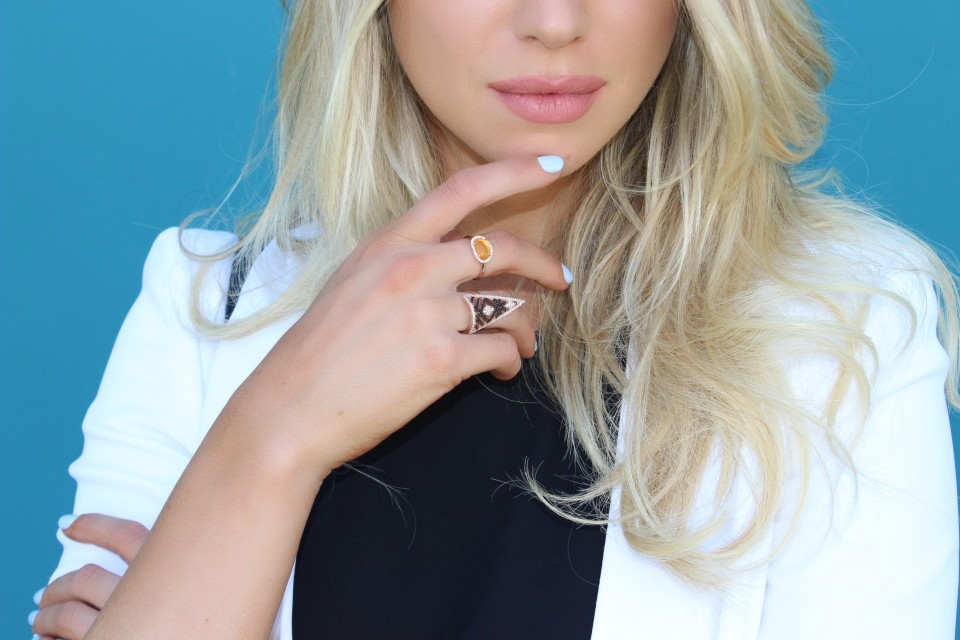 Rose Gold Rings - Daily Vice - Stassi Schroeder - Just Stassi