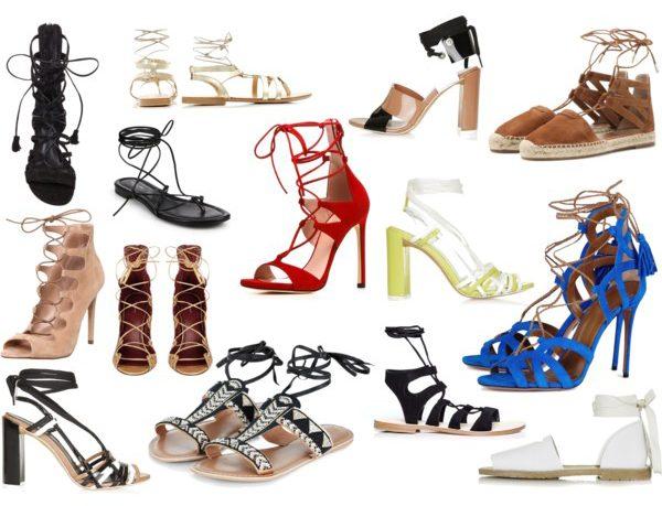 Lace Up Sandals - Just Stassi - Stassi Schroeder