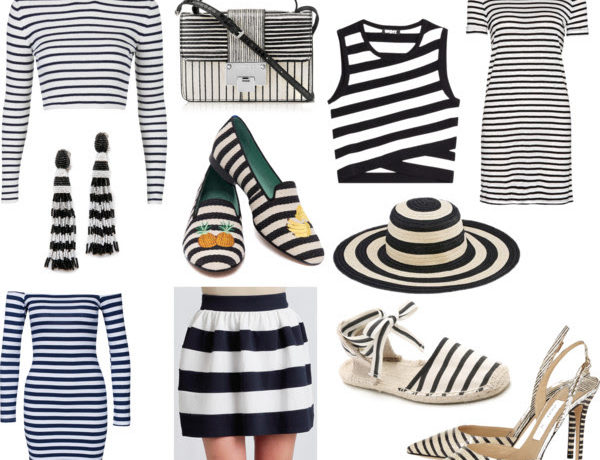 BW Stripes Collage - Stassi Schroeder - Just Stassi