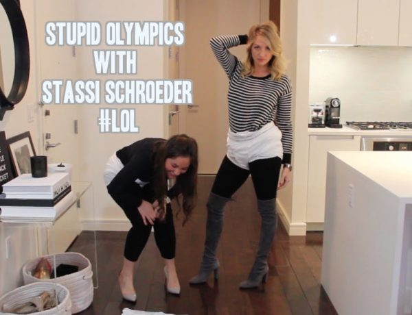 Stupid Olympics with Stassi Schroeder - Taylor Strecker