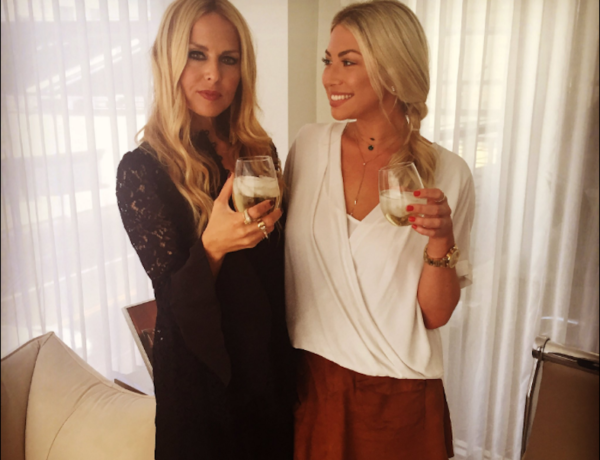 Stassi and her idol Rachel Zoe