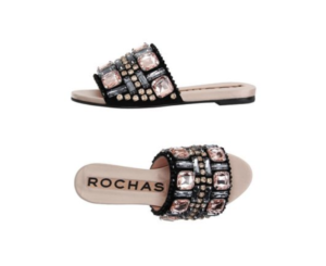 Rochas - jeweled sandals